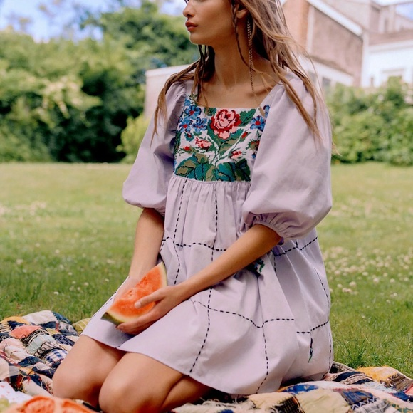 Urban Outfitters Kimchi Blue Tapestry Dress